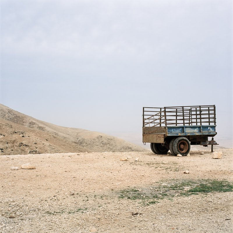 Trailer, south of Taybeh, Palestine