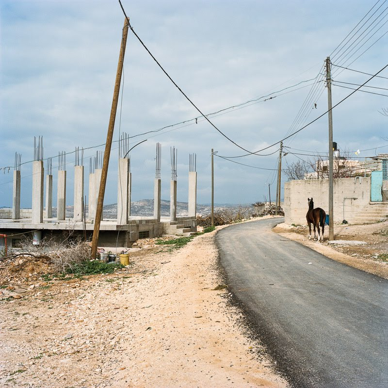 The road to Iskaka, Palestine