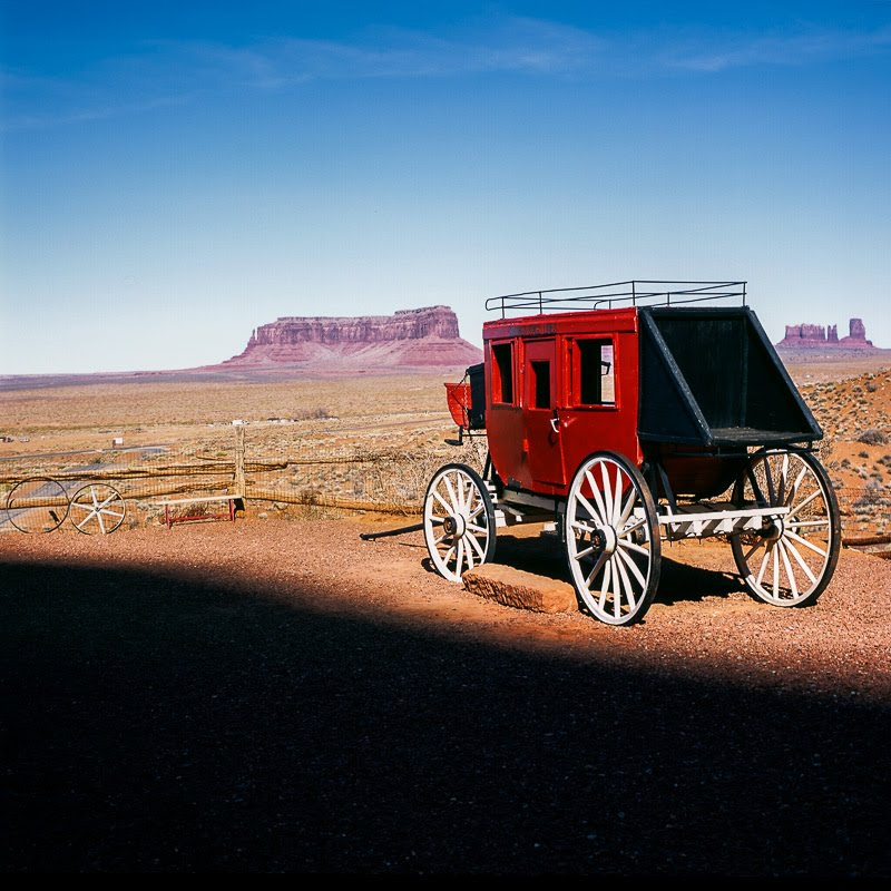 Stagecoach, Monument Valley