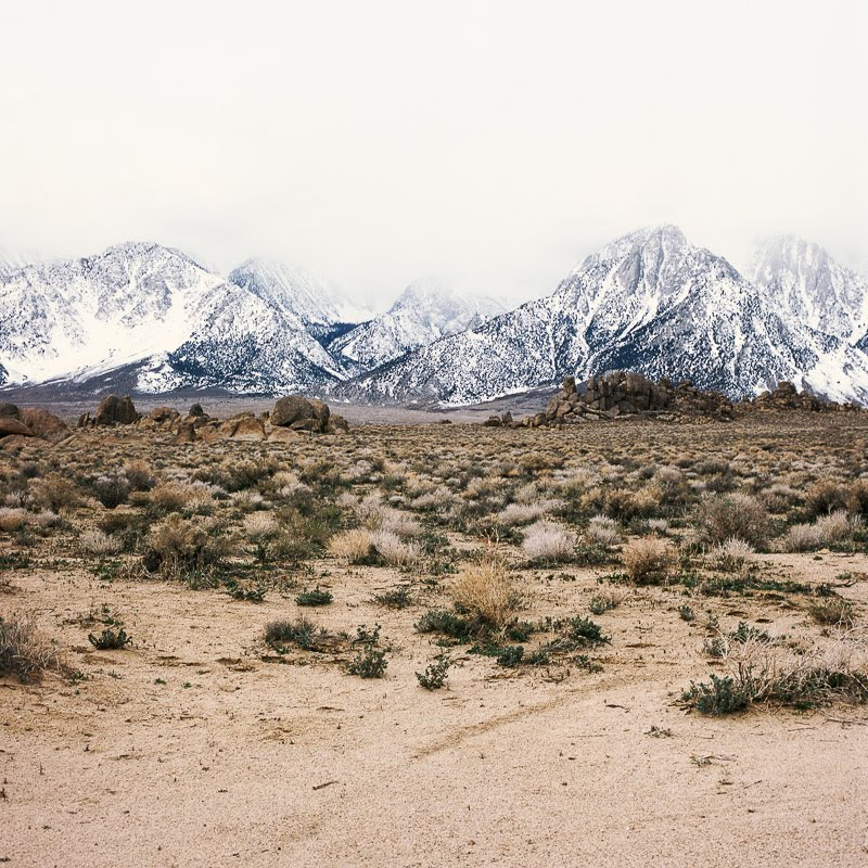 Lone Pine mountains